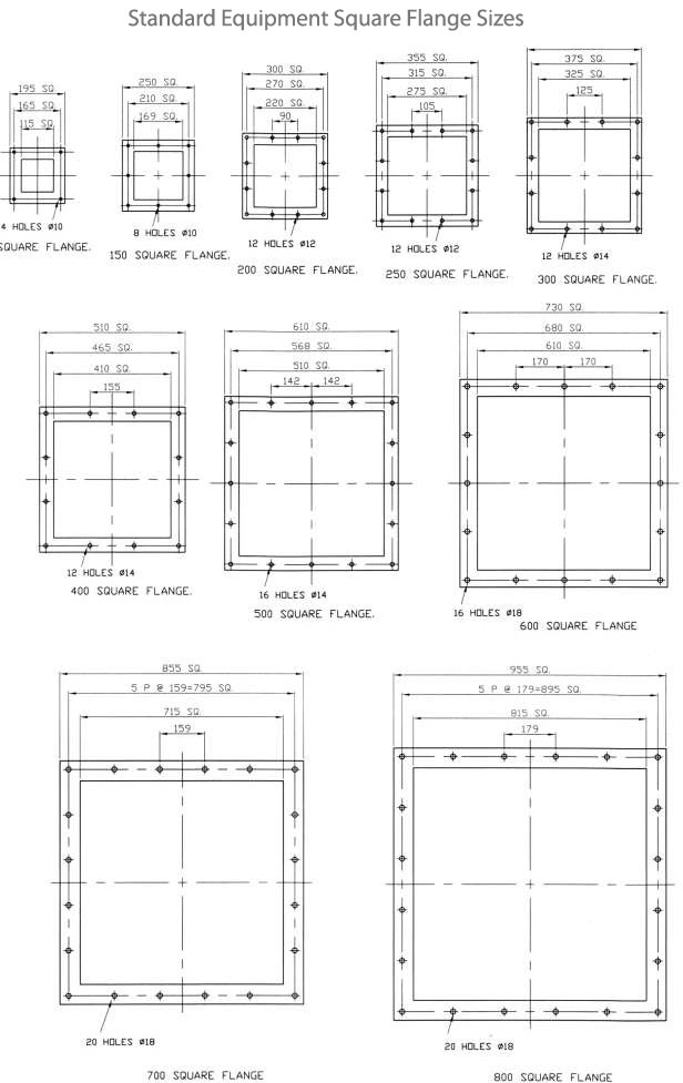 Square Flange Manufacturers in Stainless Steel and Carbon