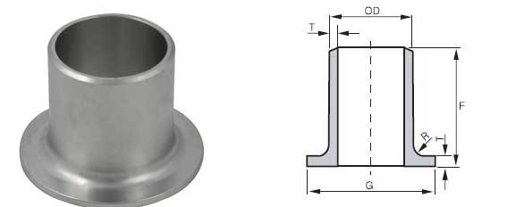 Stainless Steel Stub Ends Manufacturers, ASME B16 9 / MSS SP