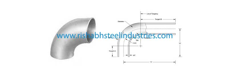 ANSI/ASME B16 9 5d Elbow Manufacturers in India, Stainless