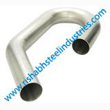 ASTM A403 WP347H Mitered Pipe Bend Manufacturers in India