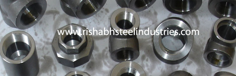 Manufacturer of carbon steel socket weld fittings in India