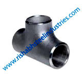 carbon steel socket weld Equal Tee Manufacturers in India