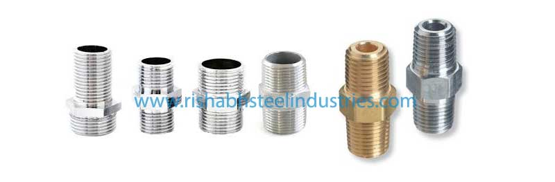Stainless Steel Threaded Hex Nipple Manufacturers in India