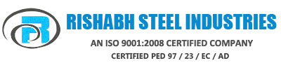 logo Rishabh Steel Industries